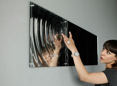 Artistic Mirror Installation Distorts Reflections and Draws Focus Inward. Read more and see more photos at garakami.com
