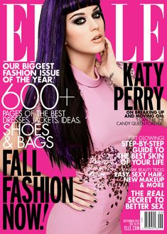 Katy Perry Covers Elle US September 2012 Issue