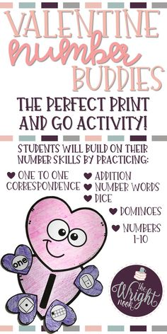 With this fun and festive activity, your students will love practicing their number skills while making a cute keepsake. This craftivity is a great support tool for all levels of learning in your classroom!  Students practice one to one correspondence, addition, dice, dominoes, tallies, and number words. Perfect for any kindergarten classroom!