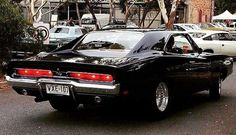 68 Charger, the best looking car after the Miura.