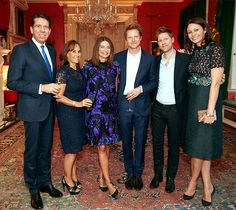 London Fashion Week came to a high-brow close, as the UK's First Lady Samantha Cameron hosted a cocktail party at 10 Downing Street in honour of The British Fashion Council. Step inside here...