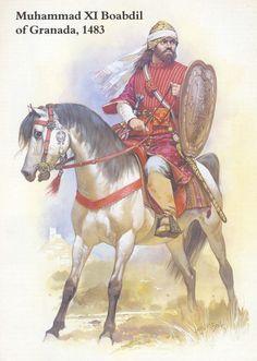 Muhammad XI Boabdil of Granada by Angus McBride