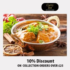 Curry Inn offers delicious Indian Food in Horley, Redhill Browse takeaway menu and place your order with ChefOnline. Indian Food Recipes, Ethnic Recipes, A Table, Opportunity, Curry, Menu, Delivery, Restaurant