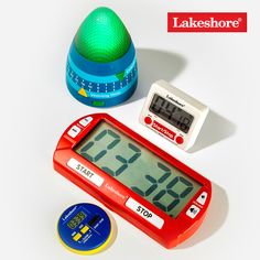 Timers are a must-have tool—and we have LOTS to choose from! From magnetic and light-up timers to timers that make sounds—our assortment has something to help everyone stay on schedule, whether they're teaching in the classroom or virtually, or learning from home. #ClassroomManagement The New School, New School Year, Back To School Essentials, Must Have Tools, Cooking Timer, Classroom Management, Light Up, Teaching, Schedule
