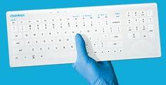 Cleanable Keyboard