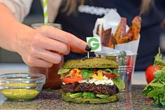 Looking for a healthy burger recipe? The Nutri-Burger from Groupon UK and nutritionist Libby Limon is packed with antioxidants from 50+ superfoods. Watch what goes into the World's Healthiest Burger and get the full recipe at http://gr.pn/29UejoR