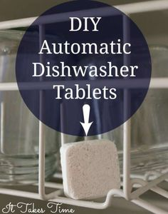 Avoid harsh chemicals and make these simple tablets with just 3 ingredients!