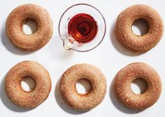 Maple-Cider  Oven Doughnuts   Vegetarian Times