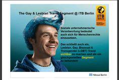 ITB - Hauptthema: Gay reisen