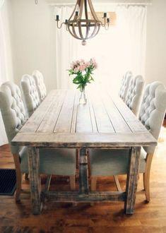 chaise capitonnée salle a manger 13 – Idées de Décoration intérieure | French Decor