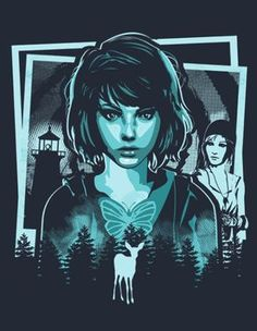 Life Is Strange fan art Life Is Strange Merchandise, Life Is Strange Wallpaper, Life Is Strange 3, Life Is Strange Fanart, Strange Art, Arcadia Bay, Chloe Price, Chef D Oeuvre, Game Boy
