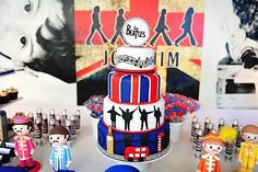 The Beatles themed party-