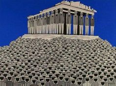 """Greece~~Γαιτης Γιαννης (Yannis Gaitis ) """" The psychology of the masses Art Paintings For Sale, Original Paintings For Sale, Modern Art Artists, Greece Painting, Street Art, Drawing Wallpaper, Great Works Of Art, Psychedelic Art, Color Of Life"""