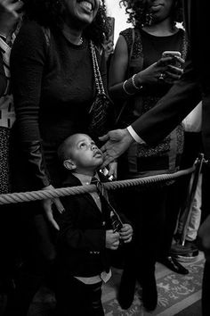 """[Souza] captures a child's-eye view of the president. We only see Obama's hand caressing Clark's face. Unlike the ones in all paintings and photographs of all previous presidents, it is not a white hand. How can anyone say that means nothing?"" via The Guardian"