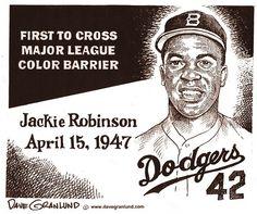 jackie robinson color barrier