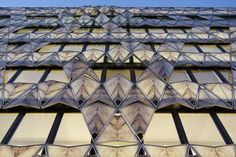 """In the case of the """"Origami"""" office building, it was the facade cladding that Manuelle Gautrand, the architect behind the project, had to de..."""