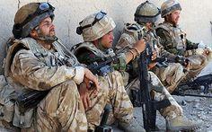 Our troops in Afghanistan