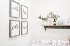 Little Laundry Room Refresh with Canadian Tire | 5 Budget Friendly Tips | Loving Littles