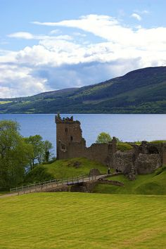 Urquhart Castle, Loch Ness, Scotland by Stephen Dagley Been there--it's as beautiful as it looks!