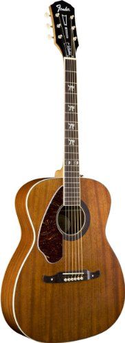 Fender Tim Armstrong Hellcat Acoustic-Electric Guitar, Left Handed – Natural