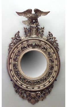 *English Georgian mirror wall mirror gilt