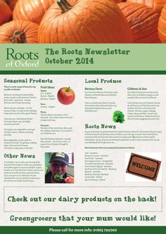 Roots Newsletter October