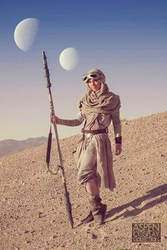 Rey cosplay, want to do this someday