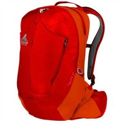 Gregory Miwok 18 Spark Orange (One Size) a men's backpack is designed to fit, comfort and load-carrying capability.
