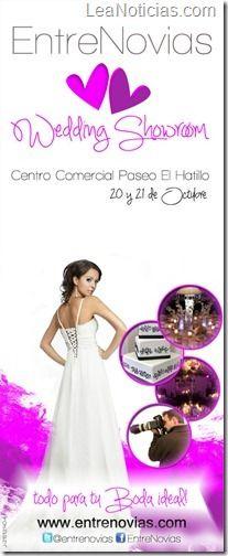 EntreNovias Wedding Showroom se estrena en Caracas - http://www.leanoticias.com/2012/09/21/entrenovias-wedding-showroom-se-estrena-en-caracas/