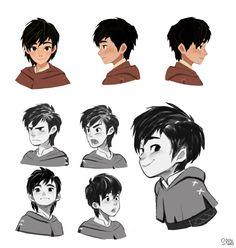 """Robin hood """"Robin"""", Hong SoonSang on ArtStation at https://www.artstation.com/artwork/AkXbq"""