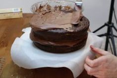 Looking for a good chocolate cake recipe? Look no further, this homemade moist chocolate cake with homemade chocolate buttercream frosting is amazing! Easy Moist Chocolate Cake, Homemade Chocolate Buttercream Frosting, Amazing Chocolate Cake Recipe, Best Chocolate Cake, Cake Board, Cake Flour, Love Cake, Vegetarian Chocolate, Cake Recipes