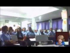 Conversatorios  de Rose Marie Tapia con los estudiantes del Colegio Rodo...