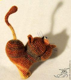 Игрушки животные, ручной работы. ВаленКотинка (кот сердешный). Светлана Перцева Per4ik. Ярмарка Мастеров. Коты и кошки, валентинка, сердце