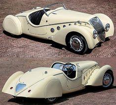 Peugeot 402 Eclipse 1938 - tecnology World Auto Retro, Retro Cars, Vintage Cars, Antique Cars, Lamborghini, Ferrari, Bmw E9, Maserati Granturismo, Peugeot