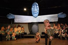 "Bread and Puppet Theater's ""The Possibilitarians."" (Greg Cook)"