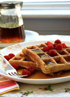 Molasses Flax Waffles - an old Norwegian recipe updated - Crosby's Molasses Easy Waffle Recipe, Waffle Recipes, My Favorite Food, Favorite Recipes, Norwegian Food, Norwegian Recipes, Good Food, Yummy Food, Delicious Snacks