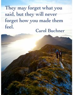 This is an inspirational poster featuring a quote by Carol Buchner. It can be used to decorate a classroom or simply to share with and encourage fellow educators!