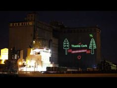 Vodafone Irlanda - Graffiti Laser. Excelente aplicación recorriendo varias ciudades de ese país.