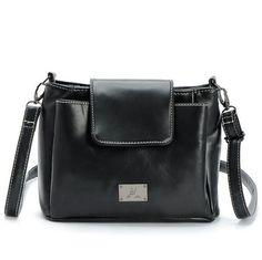 Women Bag Brand Women Leather Handbags Bolsa Feminina Three Pocket And Style Crossbody Bags Bolsa Feminina Black Red