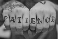 I usually hate knuckle tattoos. But I kind of really love this one.