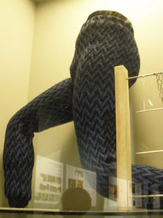 Persian sprang pants on display at the Yapi Kredi museum