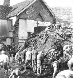 THE ABERFAN DISASTER The Aberfan disaster was a catastrophic collapse of a colliery spoil tip in the Welsh village of Aberfan, near Merthyr Tydfil, on 21 October 1966, killing 116 children & 28 adults. It was caused by water in the accumulated rock & shale, which suddenly started to slide downhill in the form of slurry. The strangest thing is that many have precognitive dreams, including one of the little girls, Eryl Mai Jones, who died in Pantglas Junior School.