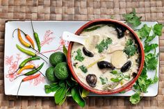 Chicken and Galangal Soup | Flickr - Photo Sharing!