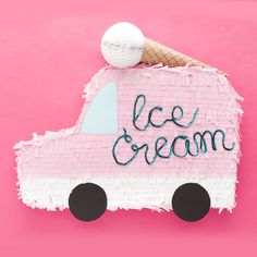 DIY Ice cream truck