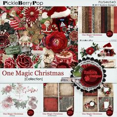 One Magic Christmas Collection By Eudora Designs
