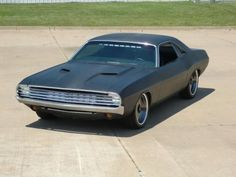 """1972 Dodge Challenger, as modified for the movie """"In Time,"""" 2011."""
