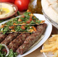 Lebanese food | Kababs | YUM