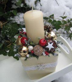 Svícínek - na přání / Zboží prodejce Silene | Fler.cz Diy And Crafts, Table Decorations, Christmas, Home Decor, Xmas, Decoration Home, Room Decor, Weihnachten, Yule