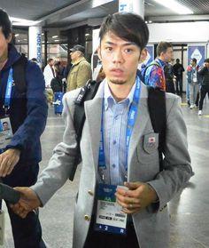 2014-02-09 高橋大輔選手(関大大学院)がソチに到着しました。(後)