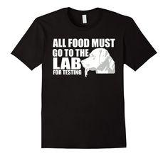 Men's Shirt For Labrador Lovers Dog Shirt For Kids, Men and Women Small Black